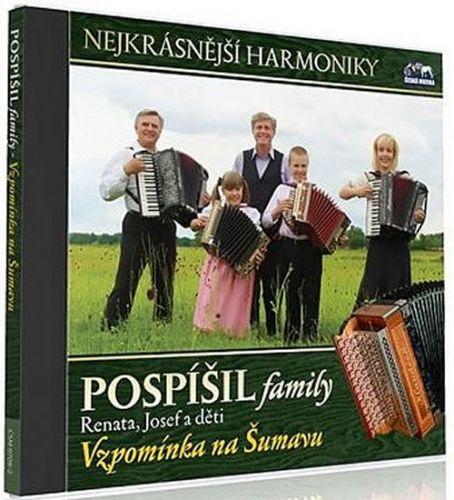 Pospíšil family - Vzpomínka na Šumavu - 1 CD cena od 139 Kč