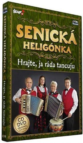 Senická heligonka - Hrajte já ráda tancuju - CD+DVD cena od 196 Kč