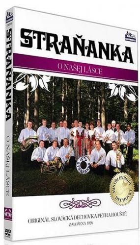 Straňanka - O našej lásce - DVD cena od 132 Kč