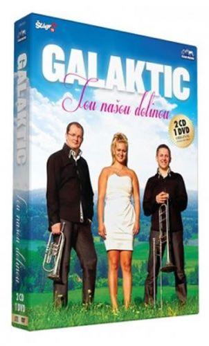 Galaktik – Tou našou dolinou - CD+DVD