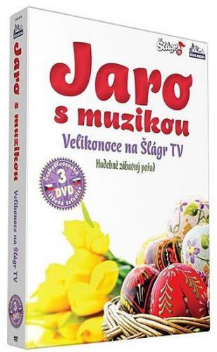 Jaro s muzikou – Velikonoce 2013 - 3 DVD cena od 279 Kč