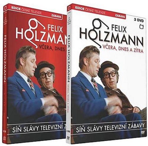 Síň Slávy - Felix Holzmann - Včera dnes a zítra - 3 DVD + 3 CD cena od 460 Kč
