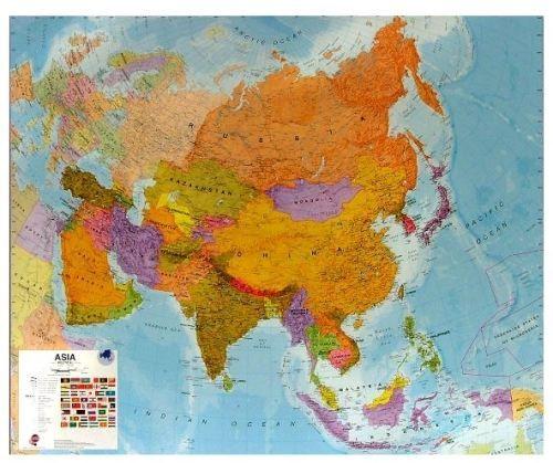 Nástěnná mapa - Asie - rám cena od 3990 Kč