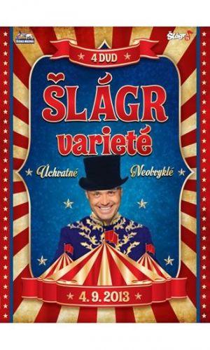 Šlágr Varieté - 4 DVD cena od 317 Kč