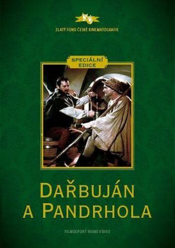 Dařbuján a Pandrhola - DVD (digipack) cena od 73 Kč