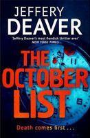 Deaver Jeffery: October List cena od 205 Kč
