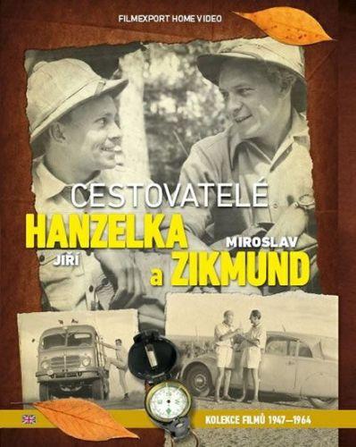 Cestovatelé Zikmund a Hanzelka - kolekce 9 DVD cena od 622 Kč