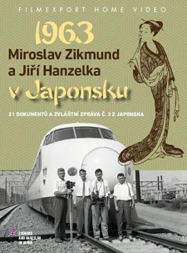Zikmund a Hanzelka v Japonsku 1963 - 2DVD cena od 221 Kč
