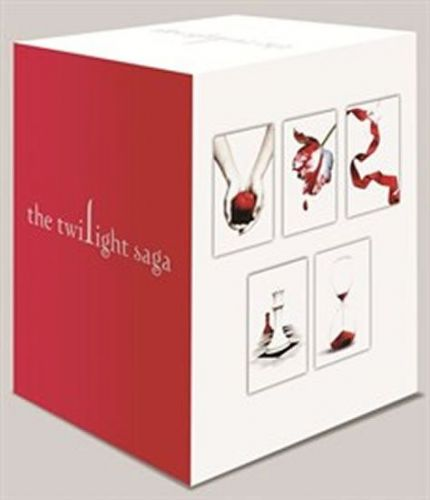 Meyerová Stephenie: Twilight saga - set ENG cena od 1110 Kč