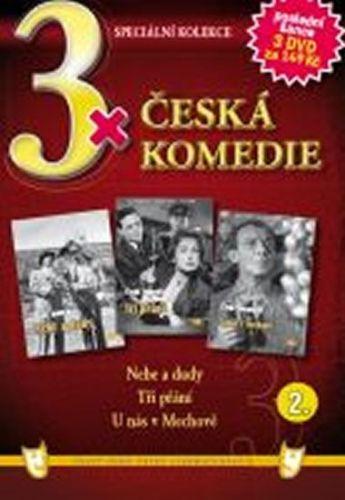 3x DVD - Česká komedie 2. cena od 106 Kč