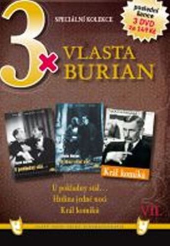 3x DVD - Vlasta Burian VII. cena od 107 Kč