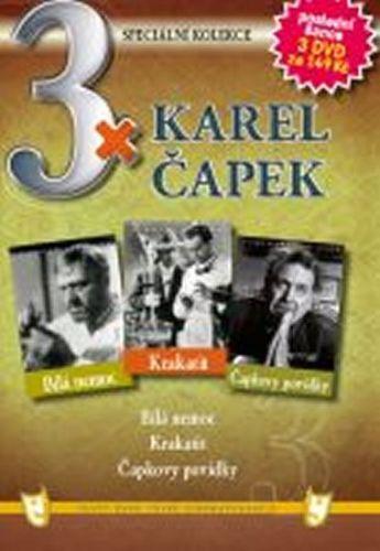 3x DVD - Karel Čapek cena od 127 Kč