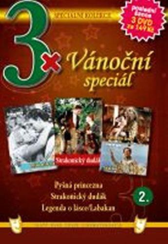 3x DVD - Vánoční speciál 2. cena od 110 Kč