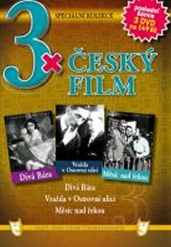 3x DVD - Český film cena od 73 Kč