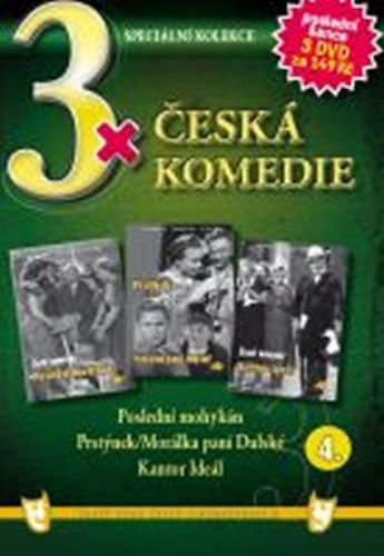 3x DVD - Česká komedie 4. cena od 106 Kč