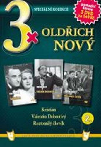 3x DVD - Oldřich Nový 2. cena od 73 Kč