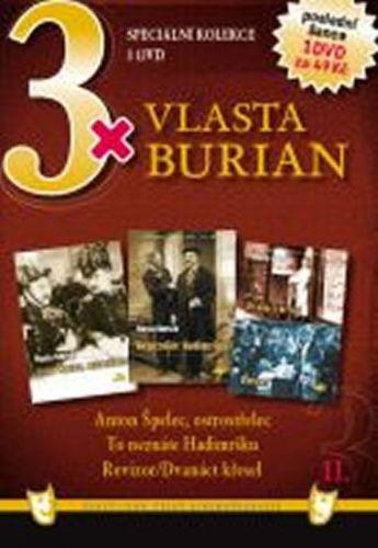 3x DVD - Vlasta Burian II. cena od 149 Kč