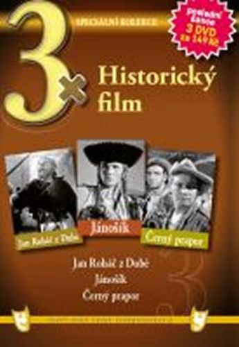 3x DVD - Historický film cena od 106 Kč
