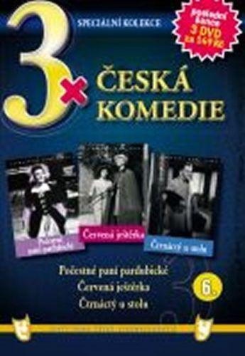 3x DVD - Česká komedie 6. cena od 127 Kč