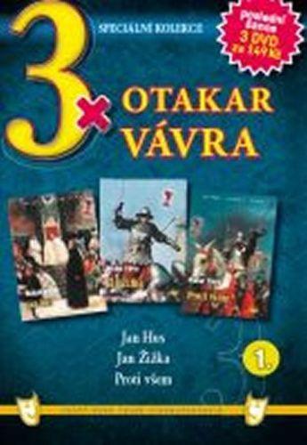 3x DVD - Otakar Vávra 1. cena od 149 Kč