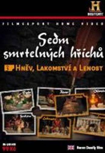 Sedm smrtelných hříchů 3. - Hněv, Lakomství, Lenost - DVD digipack cena od 36 Kč