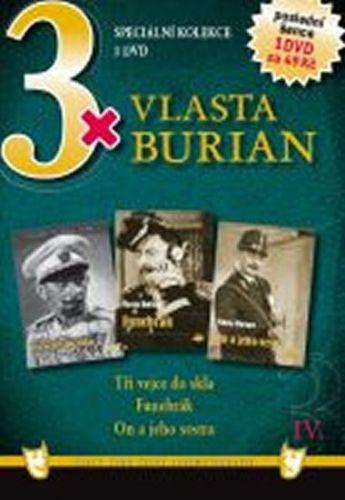 3x DVD - Vlasta Burian IV. cena od 110 Kč