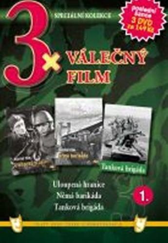 3x DVD - Válečný film 1. cena od 106 Kč
