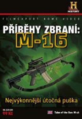 Příběhy zbraní: M16 - DVD digipack cena od 73 Kč