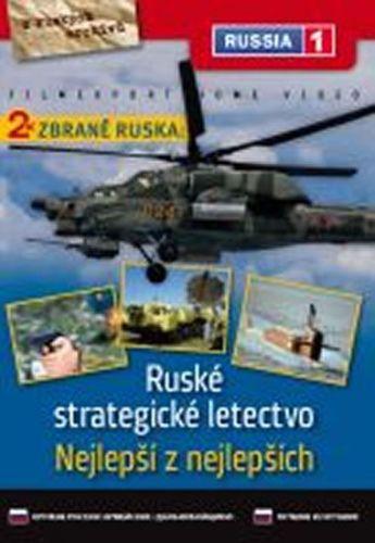 Zbraně Ruska: Nejlepší z nejlepších + Ruské strategické letectvo - DVD digipack cena od 36 Kč