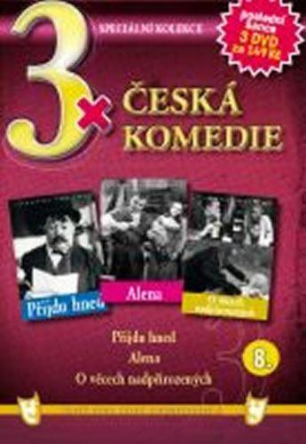 3x DVD - Česká komedie 8. cena od 106 Kč