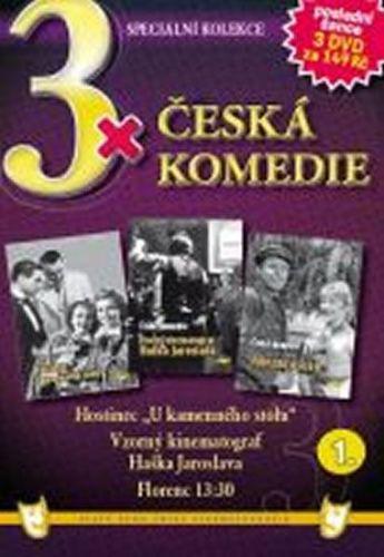 3x DVD - Česká komedie 1. cena od 127 Kč