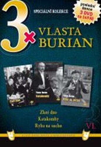 3x DVD - Vlasta Burian VI. cena od 107 Kč