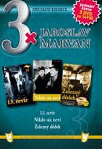 3x DVD - Jaroslav Marvan cena od 106 Kč