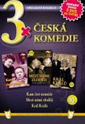 3x DVD - Česká komedie 10. cena od 73 Kč