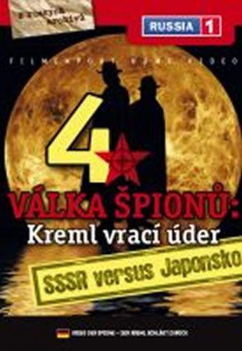 Válka špiónů: Kreml vrací úder 4. - SSSR versus Japonsko - DVD digipack cena od 41 Kč