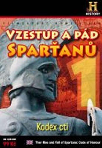 Vzestup a pád Sparťanů 1. - Kodex cti - DVD digipack cena od 90 Kč