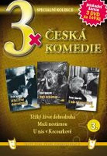 3x DVD - Česká komedie 3. cena od 106 Kč