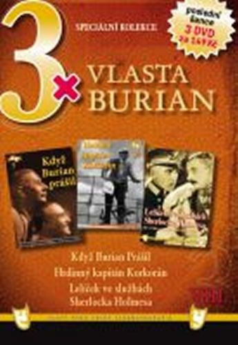 3x DVD - Vlasta Burian VIII. cena od 130 Kč