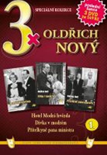 3x DVD - Oldřich Nový 1. cena od 106 Kč