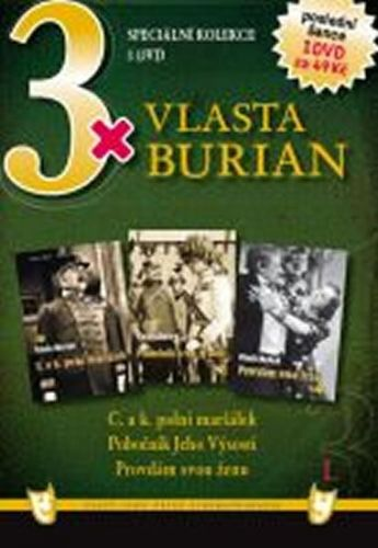 3x DVD - Vlasta Burian I. cena od 73 Kč