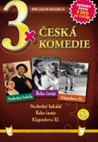3x DVD - Česká komedie 5. cena od 106 Kč