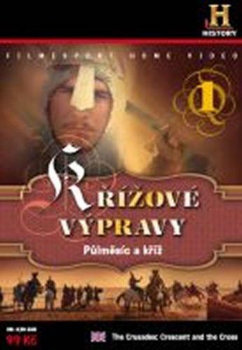 Křížové výpravy: Půlměsíc a kříž 1. - DVD digipack cena od 77 Kč