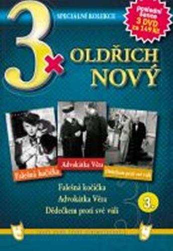 3x DVD - Oldřich Nový 3. cena od 106 Kč