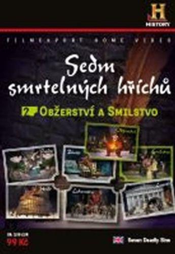 Sedm smrtelných hříchů 2. - Obžerství, Smilstvo - DVD digipack cena od 73 Kč