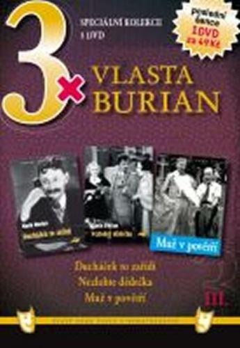 3x DVD - Vlasta Burian III. cena od 106 Kč
