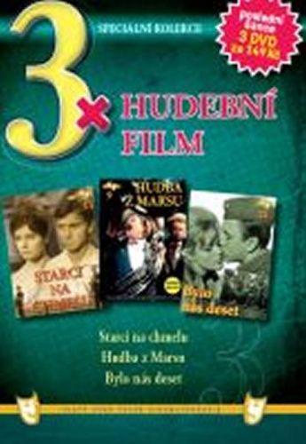 3x DVD - Hudební film cena od 106 Kč