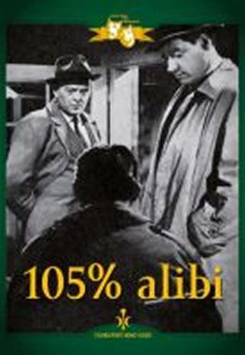 105% alibi - DVD digipack cena od 85 Kč
