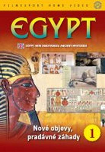 Egypt: Nové objevy, pradávné záhady 1. - DVD digipack cena od 73 Kč