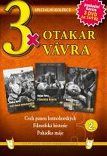 3x DVD - Otakar Vávra 2. cena od 106 Kč