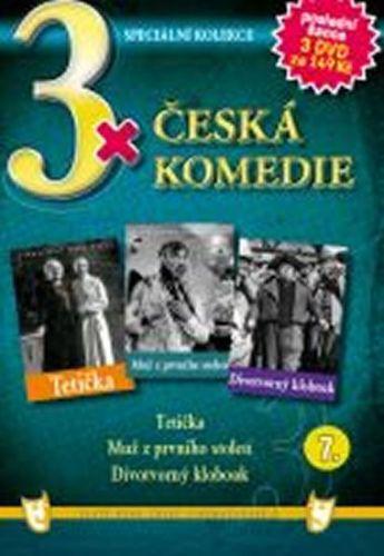 3x DVD - Česká komedie 7. cena od 132 Kč